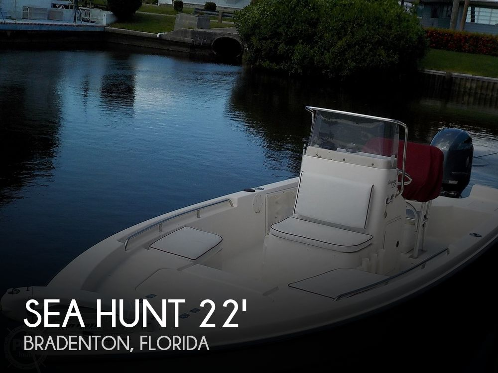 Used Power boats For Sale by owner | 2004 Sea Hunt 22 Navigator