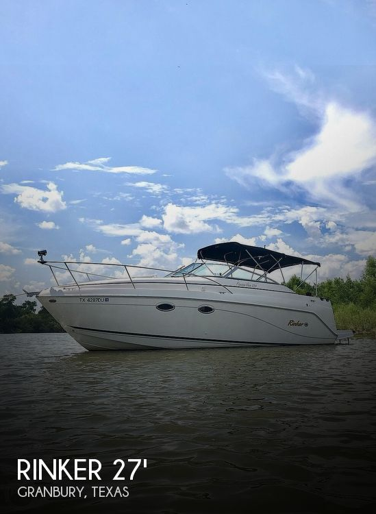 Used Rinker Boats For Sale in Texas by owner | 2002 Rinker 270 Fiesta Vee