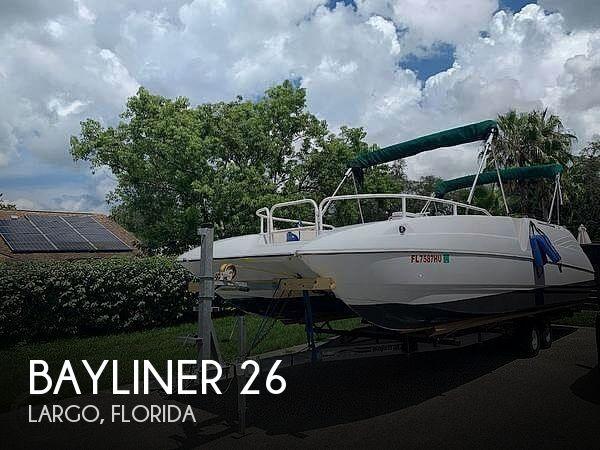 Used Bayliner Deck Boats For Sale by owner | 1993 Bayliner 26