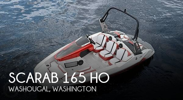 Used Scarab Boats For Sale in Washington by owner | 2015 Scarab 165