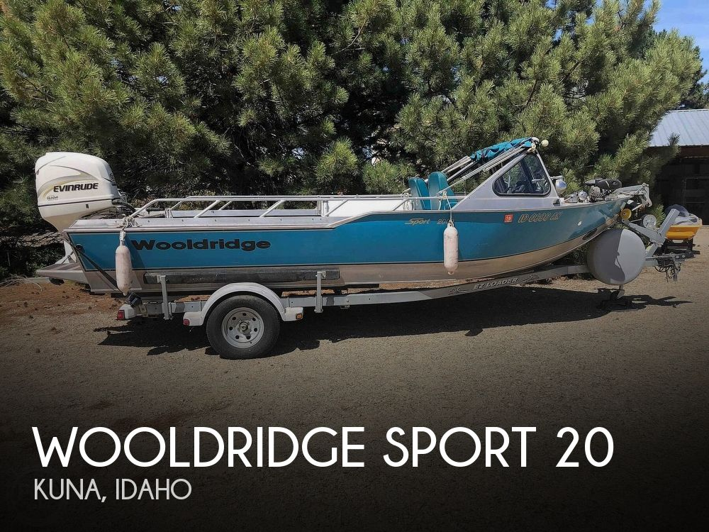 Used Boats For Sale in Boise, Idaho by owner | 2001 Wooldridge 20