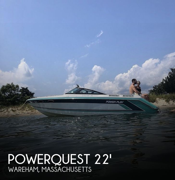 Used Powerquest Boats For Sale by owner | 1991 22 foot Powerquest Spectra