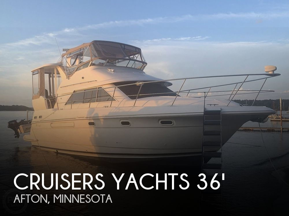 Used Boats For Sale in Minnesota by owner | 2001 Cruisers Yachts 3750 Motor Yacht