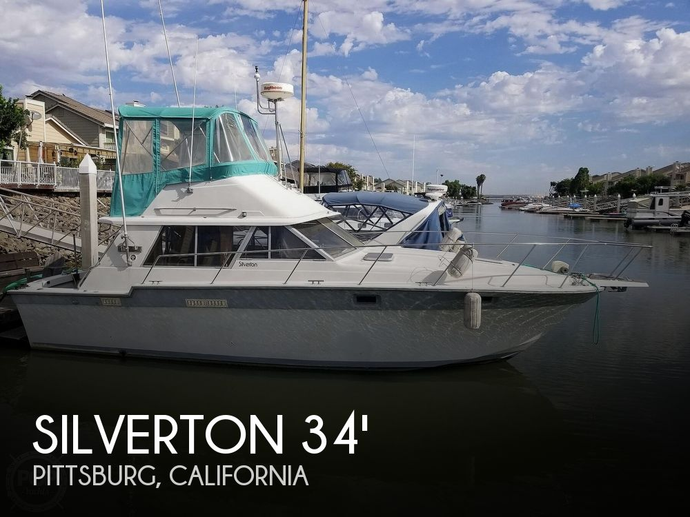 Used Motoryachts For Sale by owner | 1985 Silverton 34 Convertible
