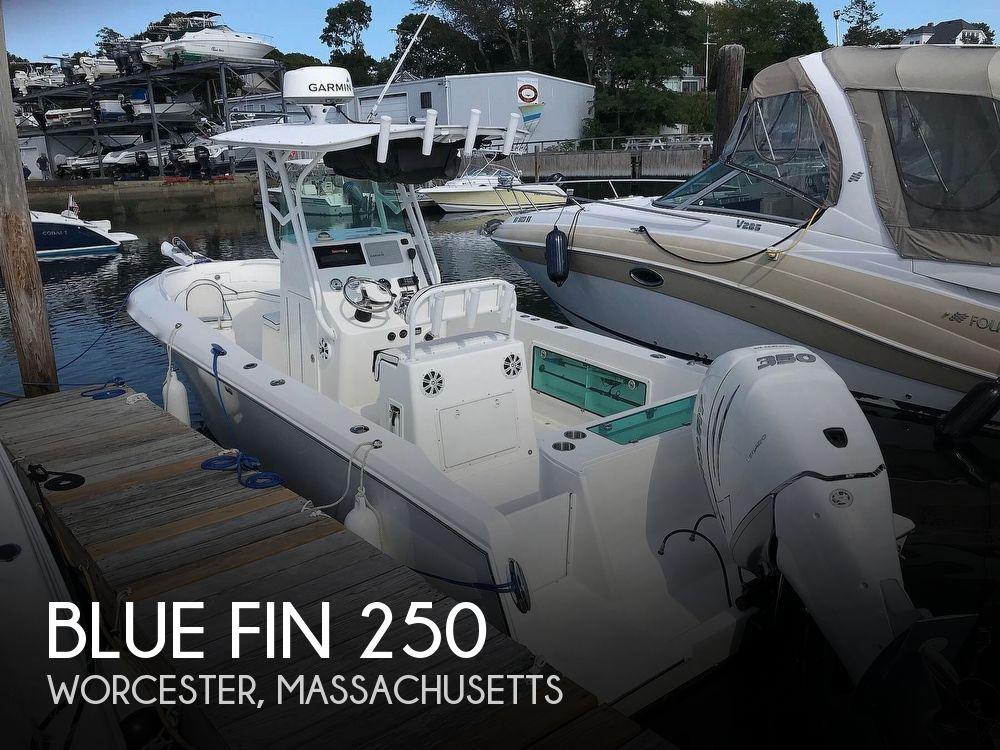 2009 Blue Fin boat for sale, model of the boat is Profish 250 & Image # 1 of 40