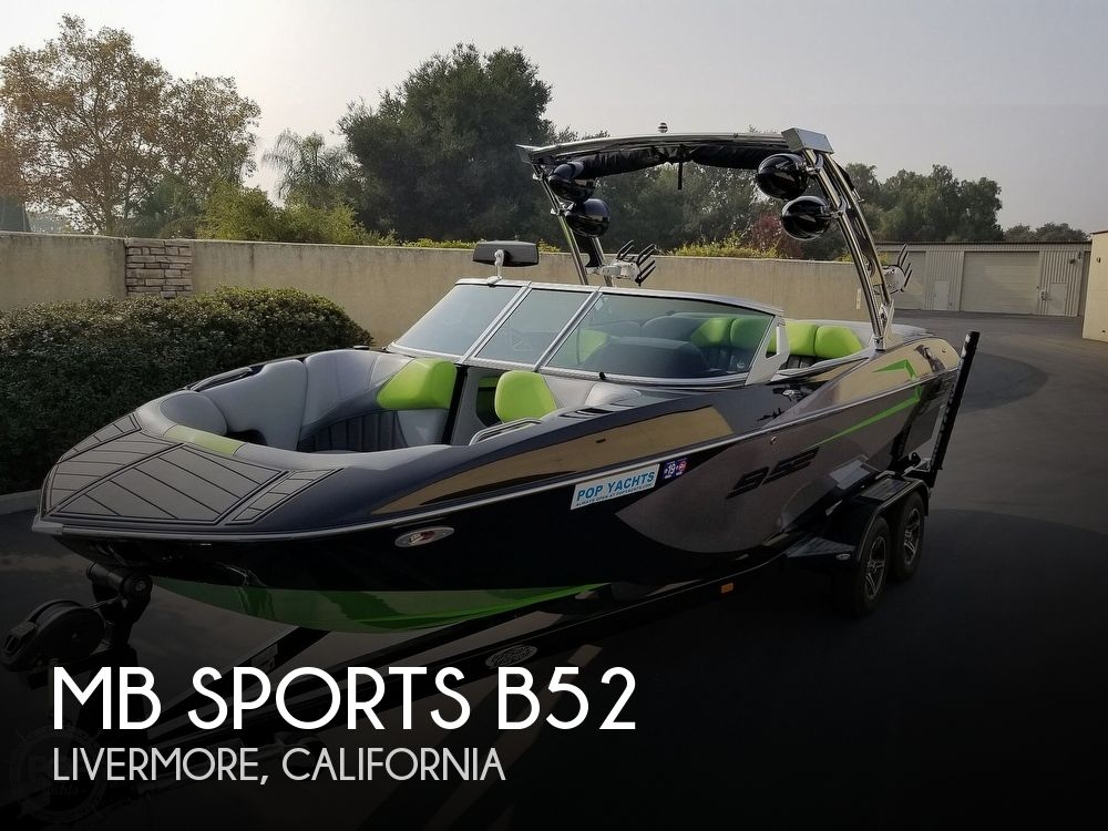 Used Boats For Sale in Santa Cruz, California by owner | 2015 MB Sports B52