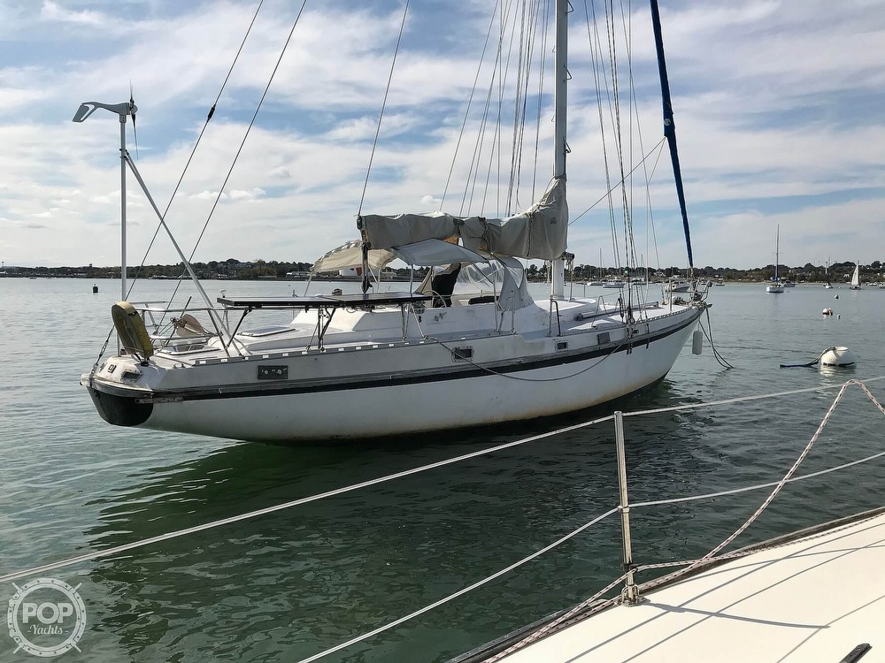 1989 Starratt Jenks boat for sale, model of the boat is Morgan 45 & Image # 10 of 40