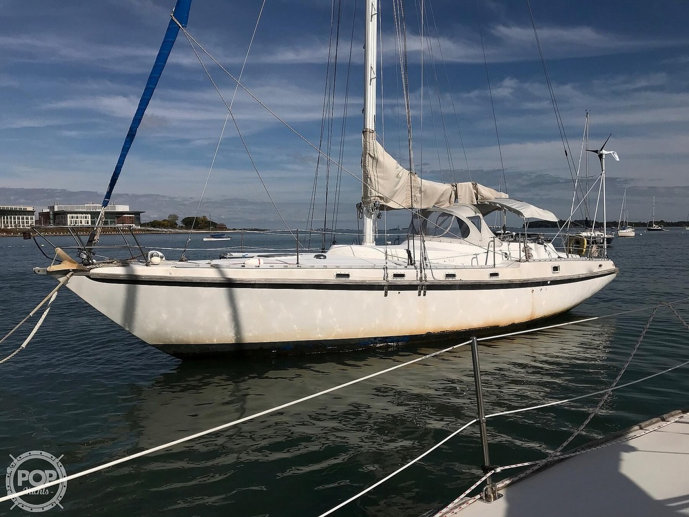 1989 Starratt Jenks boat for sale, model of the boat is Morgan 45 & Image # 3 of 40