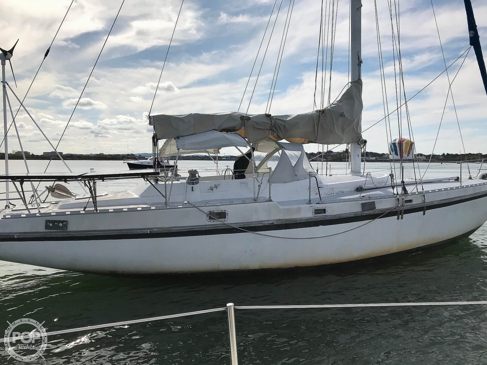 1989 Starratt Jenks boat for sale, model of the boat is Morgan 45 & Image # 6 of 40