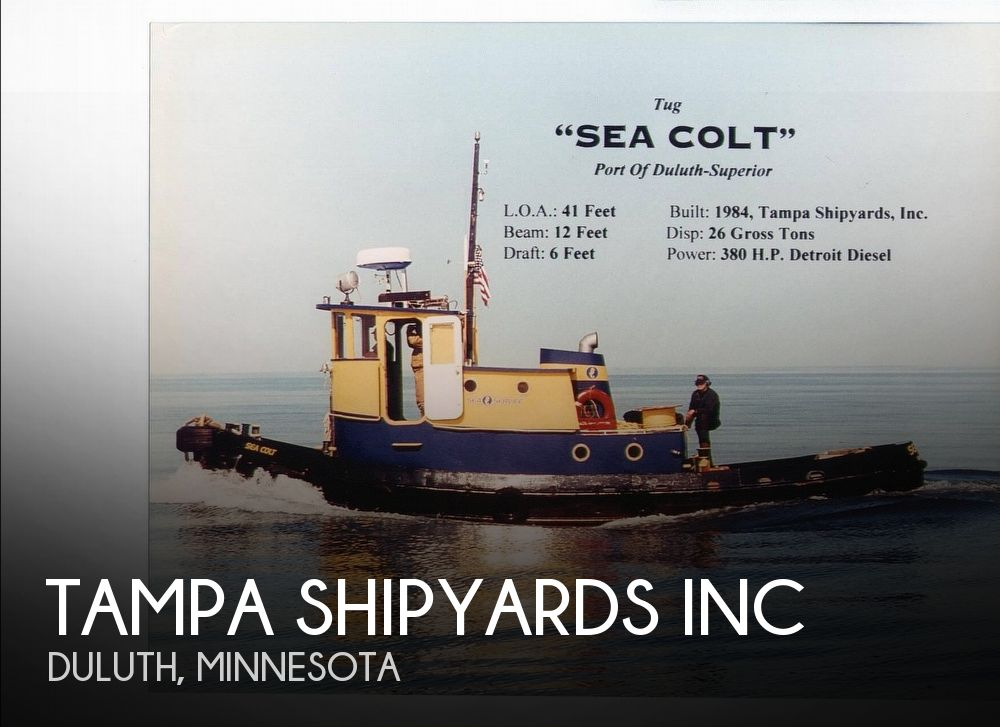 Used Boats For Sale in Duluth, Minnesota by owner | 1984 Tampa Shipyards 41