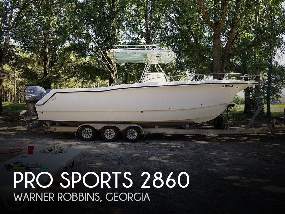 Used Boats For Sale in Macon, Georgia by owner | 2003 Pro Sports Prokat 2860