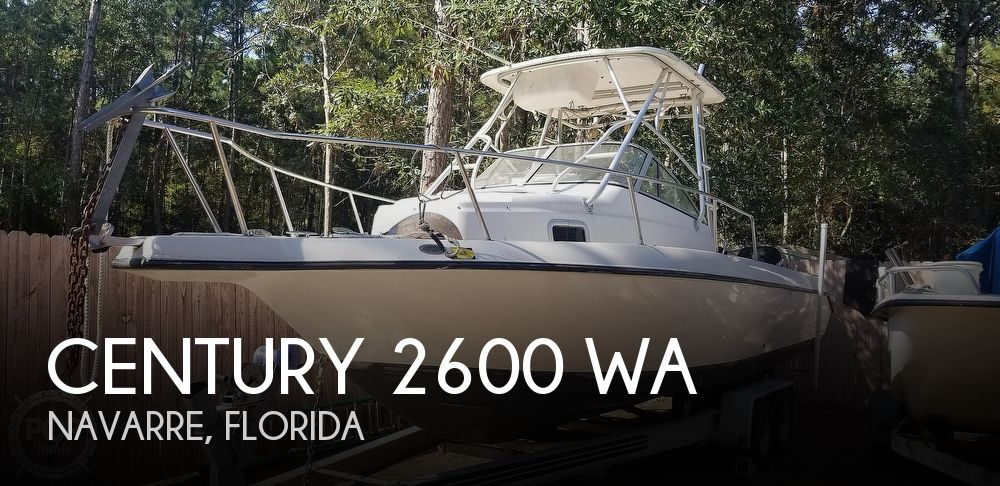 2000 Century boat for sale, model of the boat is 2600 WA & Image # 1 of 40