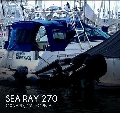 1990 Sea Ray 270DA Sundancer