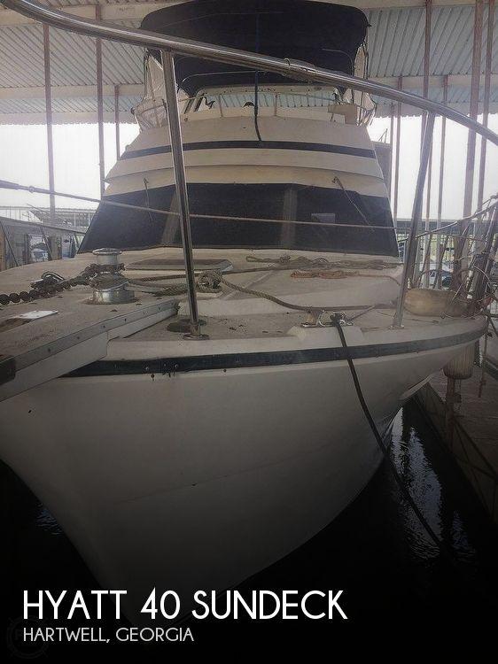 Used Hyatt Boats For Sale by owner | 1989 43 foot Hyatt SUNDECK
