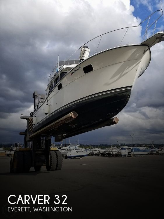 Used Carver Boats For Sale in Washington by owner | 1989 Carver 32