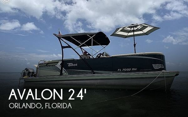 Used Avalon Boats For Sale by owner | 2017 24 foot Avalon LTZ Entertainer