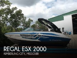2017 Regal ESX 2000