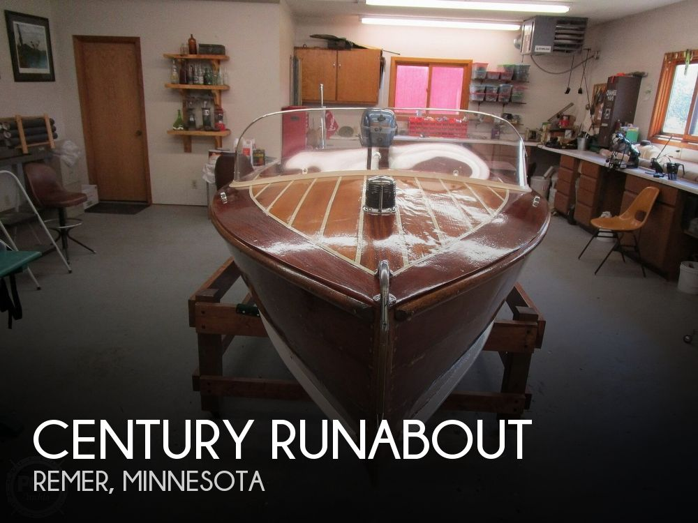 1947 Century boat for sale, model of the boat is Runabout & Image # 1 of 31