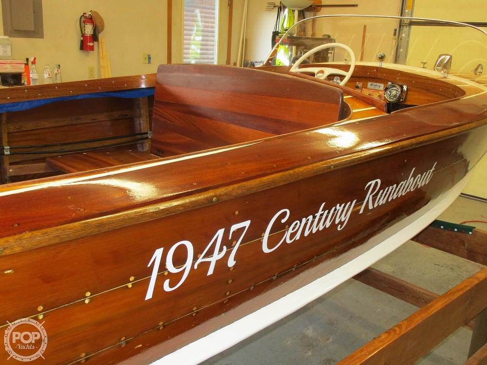 1947 Century boat for sale, model of the boat is Runabout & Image # 2 of 31