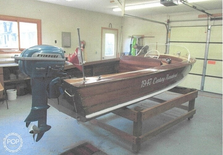 1947 Century boat for sale, model of the boat is Runabout & Image # 5 of 31