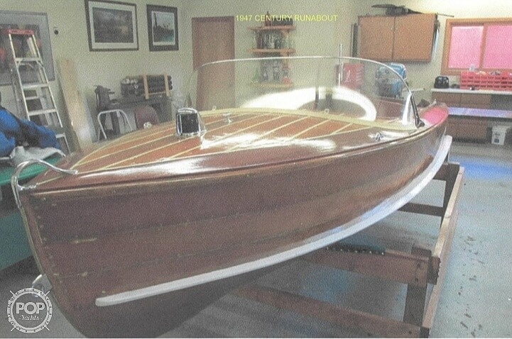 1947 Century boat for sale, model of the boat is Runabout & Image # 6 of 30