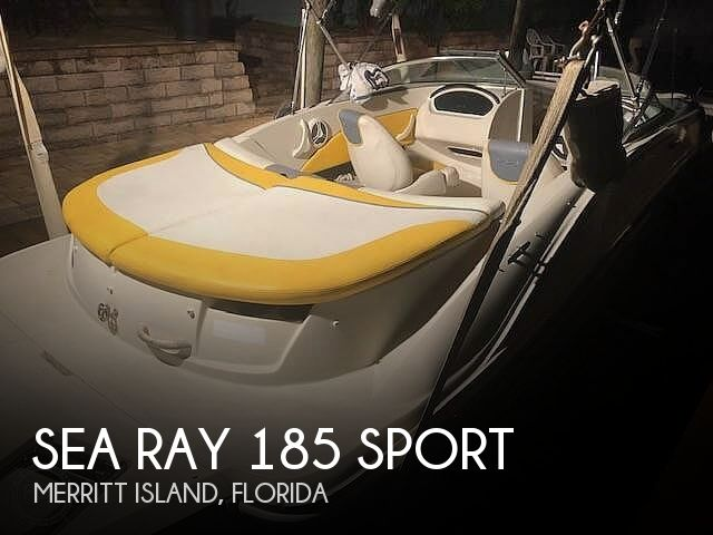 Used Sea Ray 185 Boats For Sale by owner | 2007 Sea Ray 185 Sport