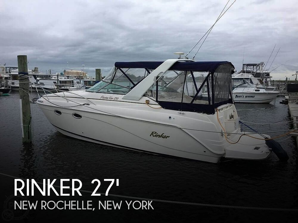 Used Rinker Boats For Sale in Bridgeport, Connecticut by owner | 2004 Rinker 270 Fiesta Vee