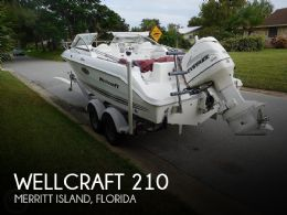 2001 Wellcraft 210 Sportsman Tournament Edition