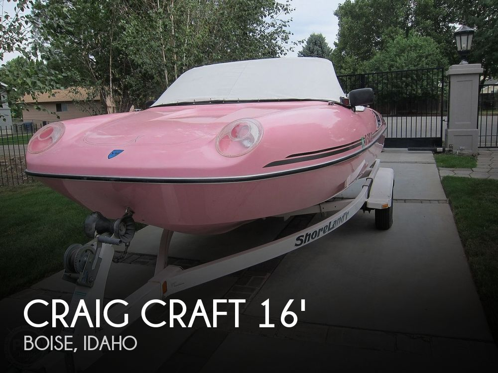 Used Craig Craft Boats For Sale by owner | 1995 Craig Craft 168 Boss