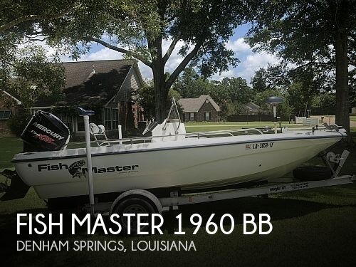 Used Fish Master Boats For Sale by owner | 2002 Fish Master 1960 Center Console