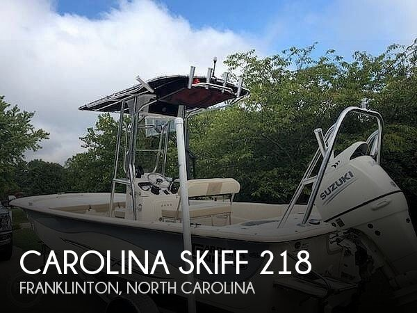 Used Carolina Skiff Boats For Sale in North Carolina by owner | 2019 Carolina Skiff 21