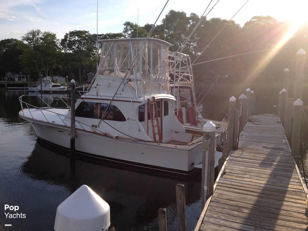 1976 Egg Harbor boat for sale, model of the boat is 33 Sedan Fisherman & Image # 4 of 41