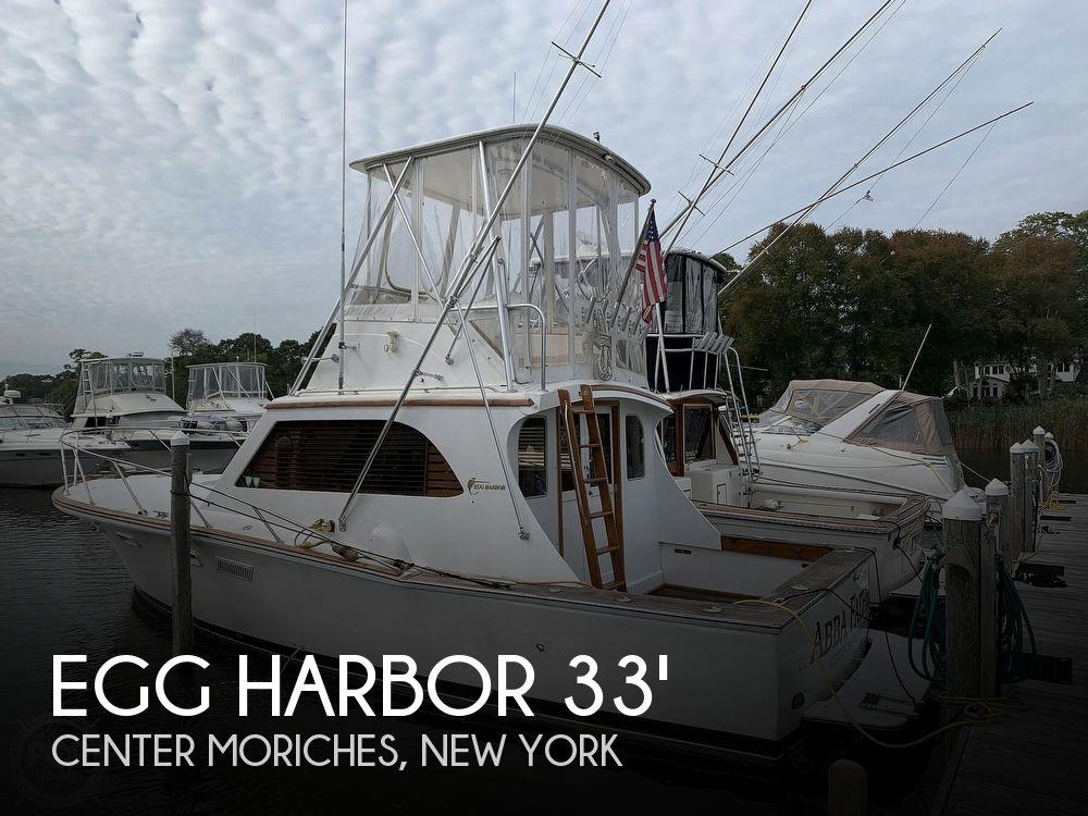 1976 EGG HARBOR 33 SEDAN FISHERMAN for sale