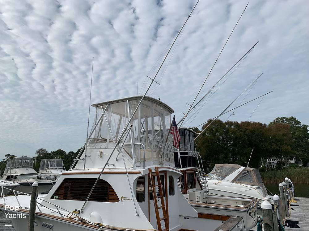 1976 Egg Harbor boat for sale, model of the boat is 33 Sedan Fisherman & Image # 5 of 41