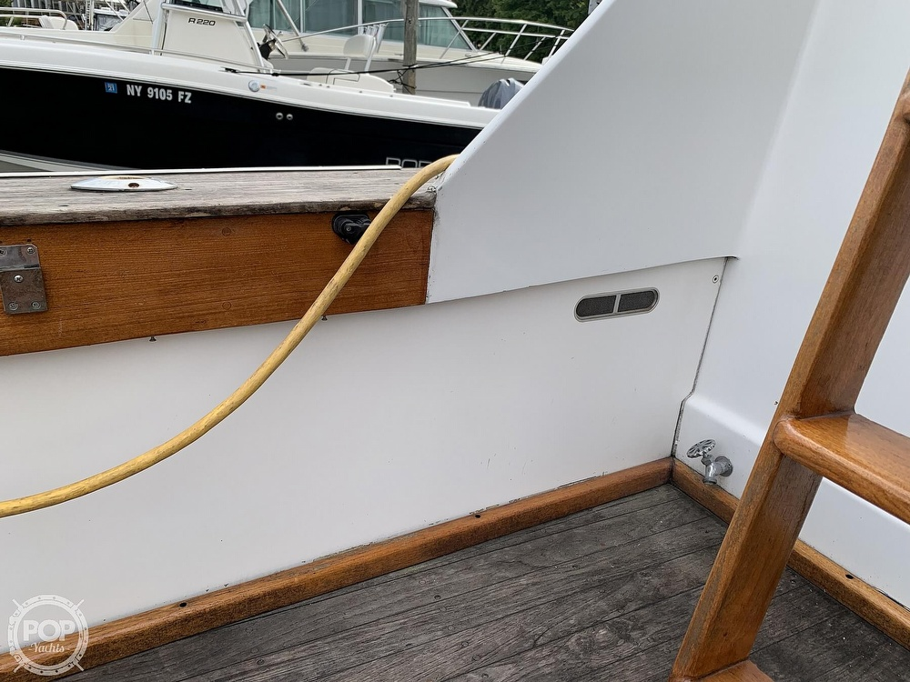 1976 Egg Harbor boat for sale, model of the boat is 33 Sedan Fisherman & Image # 25 of 41