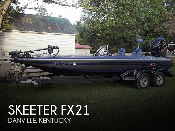 Used Boats For Sale in Lexington, Kentucky by owner | 2014 Skeeter 21