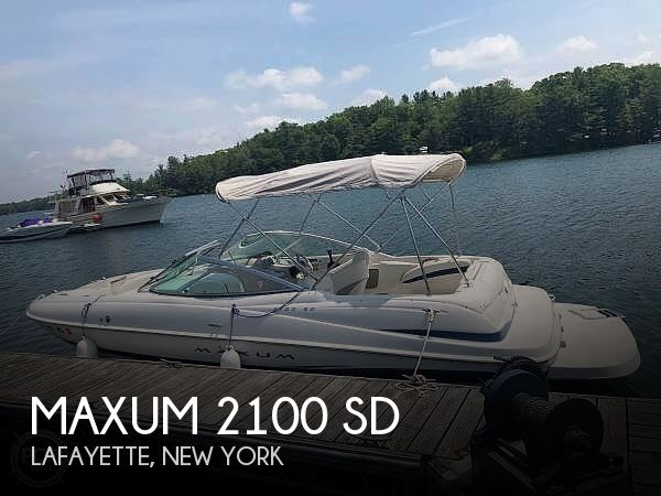 Used Power boats For Sale by owner | 2003 Maxum 2100