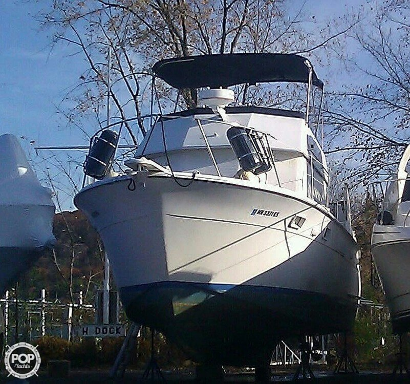 1973 Hatteras boat for sale, model of the boat is 38 Double cabin cruiser & Image # 3 of 13