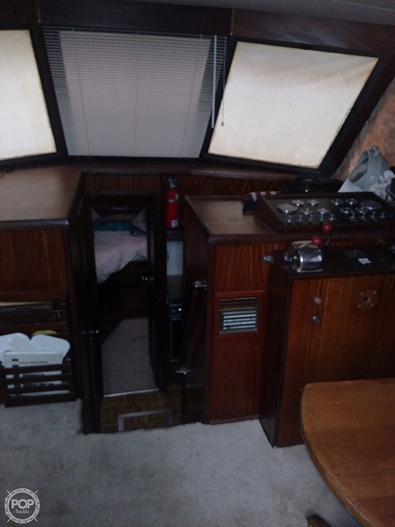 1973 Hatteras boat for sale, model of the boat is 38 Double cabin cruiser & Image # 9 of 13