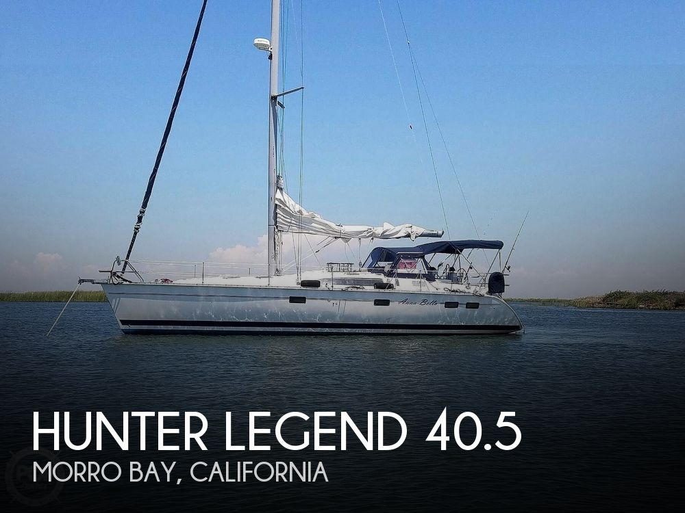 Used Boats For Sale in San Luis Obispo, California by owner | 1997 Hunter Legend 40.5