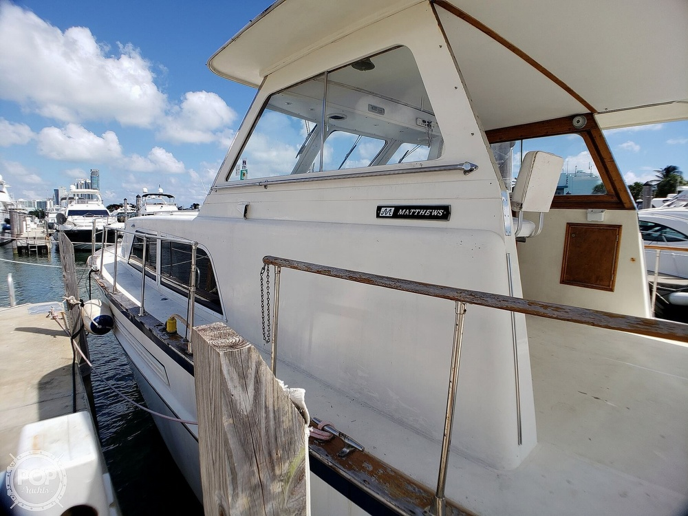 1973 Matthews boat for sale, model of the boat is 46 Motoryacht & Image # 15 of 40