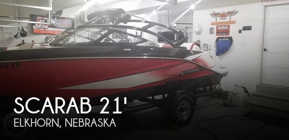Used Boats For Sale in Omaha, Nebraska by owner | 2014 Scarab 215 H.O. Impulse