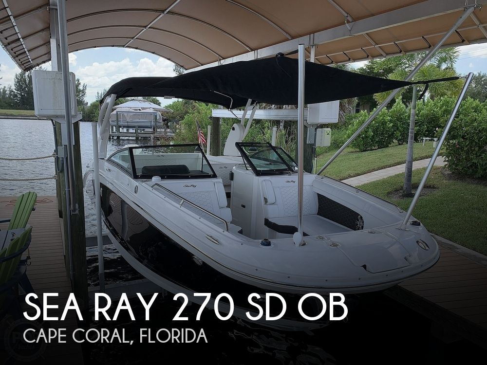 Used Sea Ray 270 Boats For Sale by owner | 2019 Sea Ray 270 SD OB