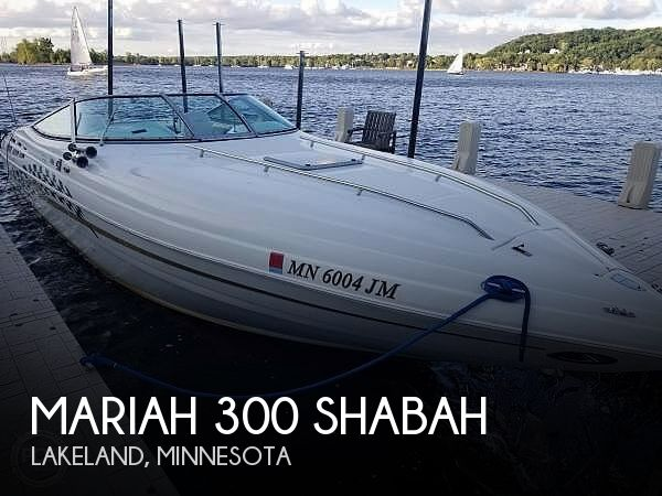 Used Mariah Boats For Sale by owner | 1999 Mariah 300 Shabah