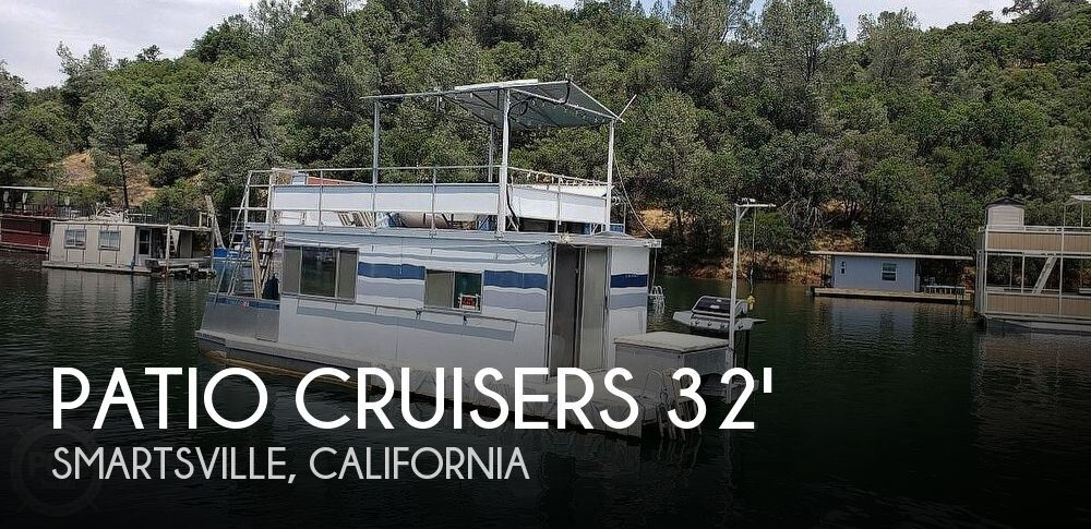 Used Houseboats For Sale in Sacramento, California by owner | 1979 Patio Cruisers 32