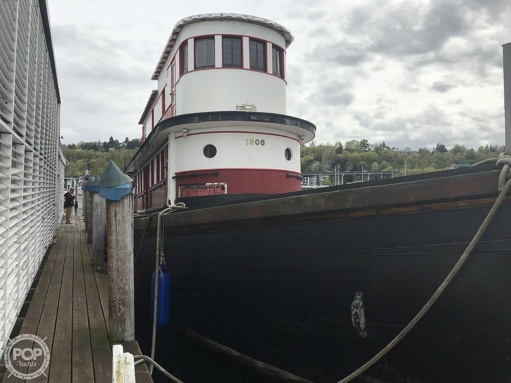 1908 Wallace boat for sale, model of the boat is 93 Packer & Image # 17 of 40
