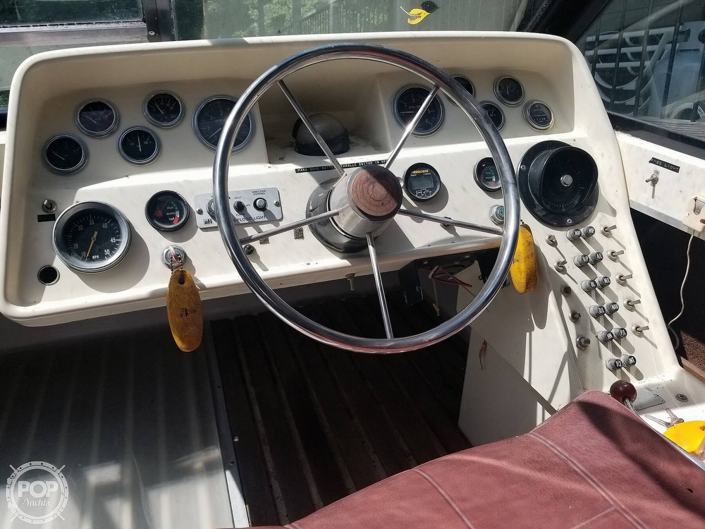 1973 Slickcraft boat for sale, model of the boat is 255 SF & Image # 7 of 18