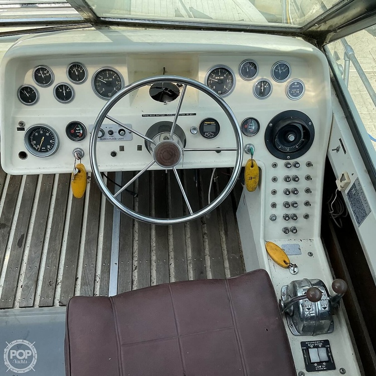 1973 Slickcraft boat for sale, model of the boat is 255 SF & Image # 23 of 40