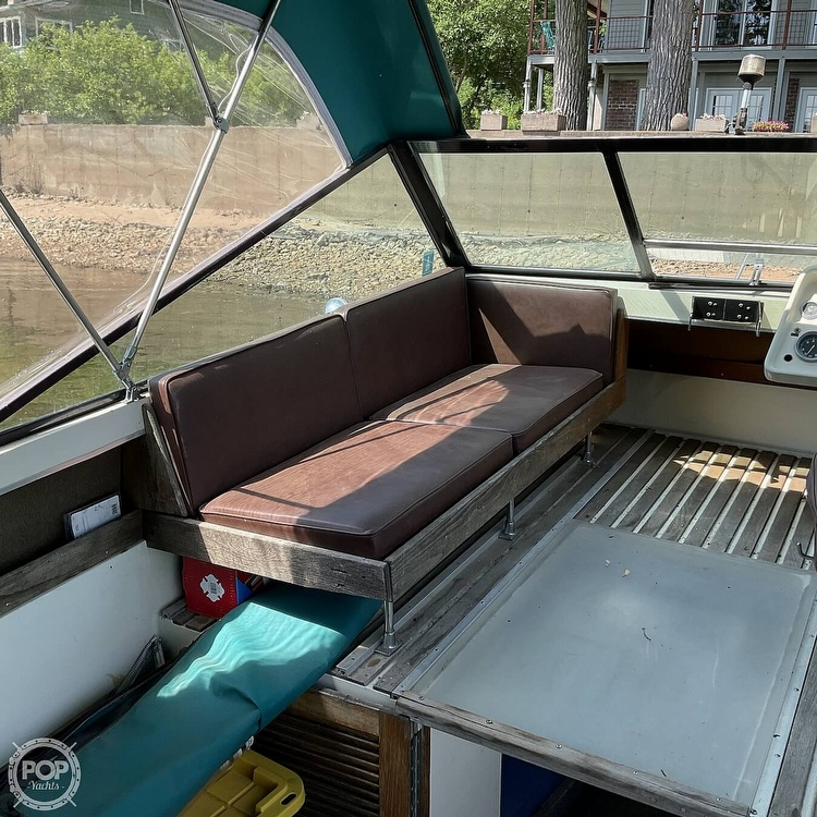 1973 Slickcraft boat for sale, model of the boat is 255 SF & Image # 24 of 40