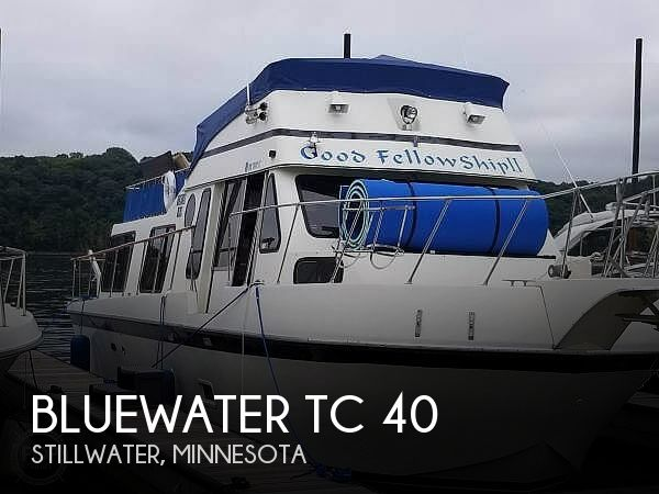 Used Houseboats For Sale in Minnesota by owner | 1978 Bluewater 40